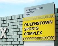 Queenstown Heritage Marker