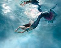 Underwater Fine Art Portraiture | Mermaid Thalia