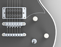 Ibanez DN500 (Solidworks)