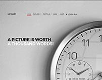 NewArt - Stylish Art & Portfolio Theme