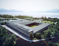 Lausanne Sport Stadium and Swimming Pool Competition