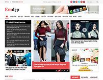 Website Newspaper   Emdep.vn