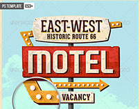 Vintage Motel Sign Pack