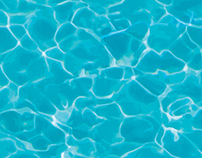 Seamless hi-res water texture
