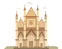 Cathedral Illustrations