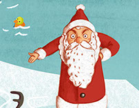 Trennt Magazin / illustration christmas page