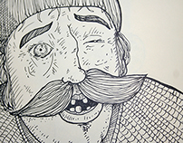 Movember 2014 Sketchbook Project