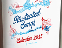 Illustrated Songs Calendar 2015