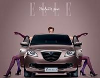 Lancia YPSILON ELLE_Parfaite pour ELLE