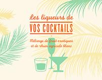 Les liqueurs de vos cocktails