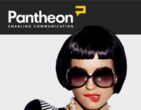 PANTHEON- wedsite design