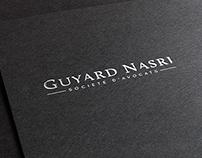 Création du logo GUYARD NASRI AVOCATS