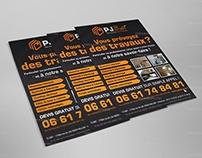 Création & Impression Flyers PJ BAT