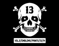 Vol.2 / Emblems / Prints / 13/14