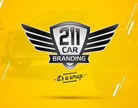 211 car branding