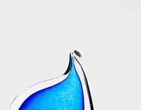 PRINT: Automotor Blue Auto