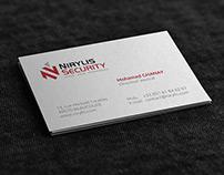 Création du logo NIRYLIS SECURITY