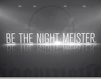 Jagermeister - BE THE NIGHT MEISTER