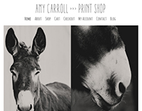 Amy Carroll Print Shop