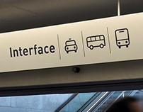 Sinalética Metro do Porto