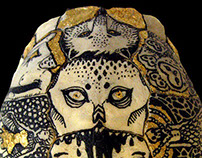Turtle Shell Reliquary