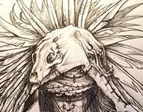 """He Speaks to the Spirits""- Still in progress"