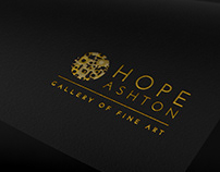 Hope Ashton Gallery Of Fine Art Brand Design