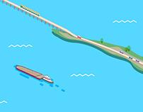 """Инфографика """"Проект Керченского моста"""""""
