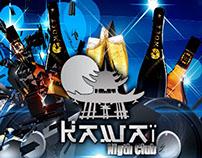 Conception pour Kawaï night club Abidjan