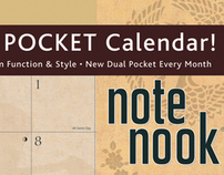 Avalanche NOTE NOOK Calendars