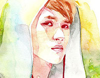 Watercolor VIXX Fan Art 2014