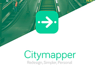 Citymapper redesign