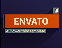 After Effects editable template