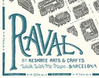 Raval map