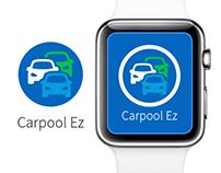 Carpool Ez - Apple Watch Concept