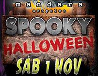 Halloween party marquee @ Mandara, Acapulco