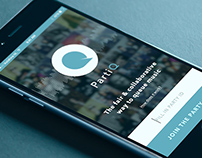 Mobile App Design Spotify-app PartiQ