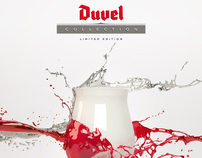 Duvel Splash 'Create your own art glass'