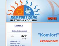 Komfort Zone Website