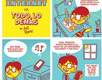 Internet Vs. Todo Lo Demas