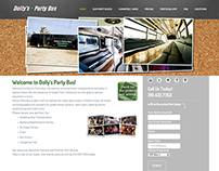 Joomla to WordPress Conversion | Dolly's Party Bus