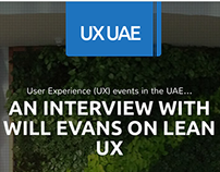 User Experience UAE - UX Events in the UAE