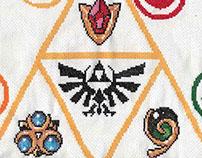 Legend of Zelda Cross Stitch