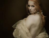 Baroque delicate portraits