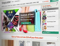 ShopLadder - Website Design