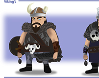 Character design - Vikings