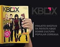 Projeto Gráfico da revista KBOX