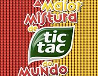 A Maior Mistura de Tic Tac do Mundo