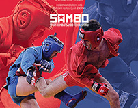 Turkey Sambo Federation Logo and Poster Design