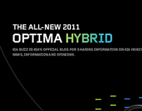 The New Optima Hybrid | 2011